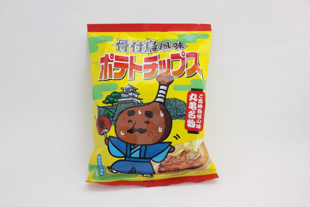 【香川県のお土産】骨付鳥風味ポテトチップス