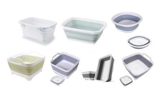 【2021年最新】定番人気の「折りたたみできる洗い桶」・おすすめ7選